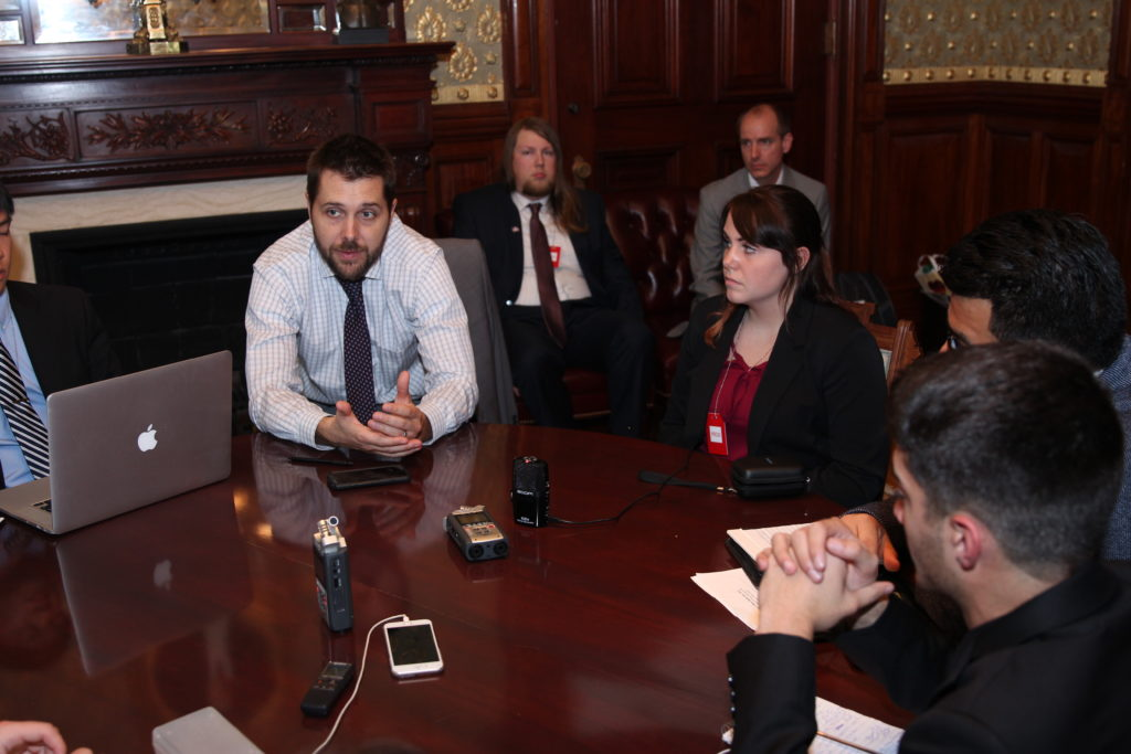 Brian Deese, Senior Advisor to President Obama talks college radio and climate change