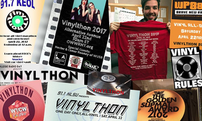 Over 60 college radio stations cue up for Vinylthon!