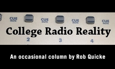 College Radio Reality: The Old Bald Cheater