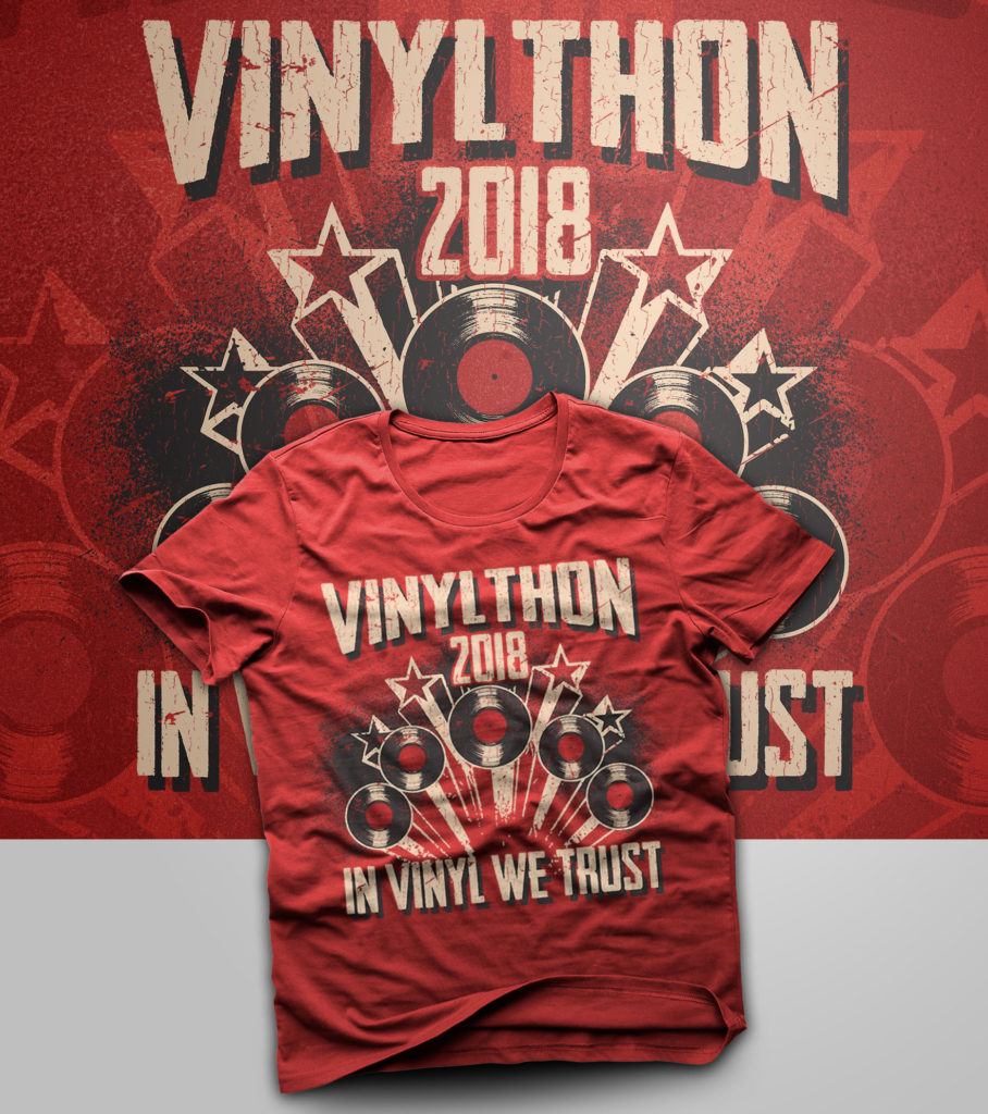 TODAY IS VINYLTHON!