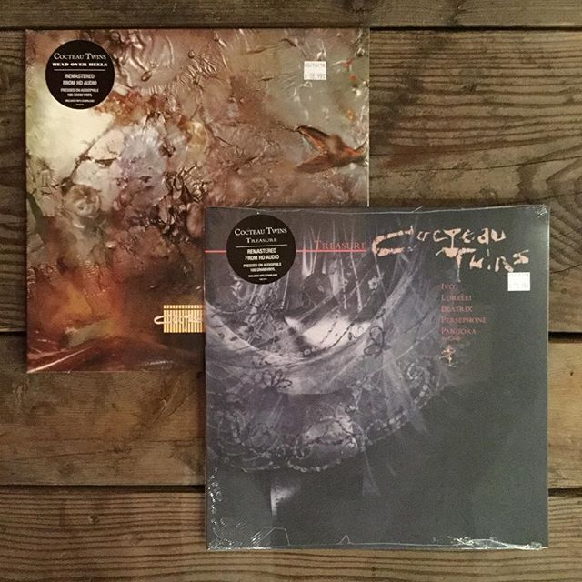 Reissue Tuesday : The Cocteau Twins | Head Over Heels (1983) and Treasure (1984)