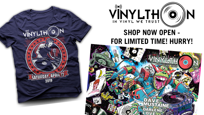 Vinylthon Shop Now Open!