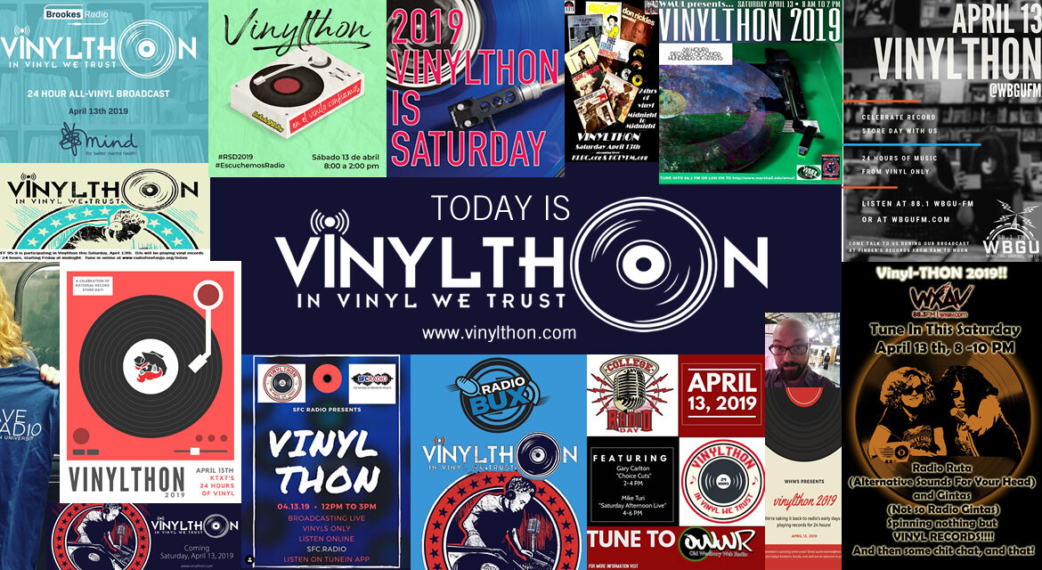 Vinylthon 2019 is today!